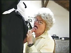 Granny Fucking 2 Dudes by snahbrandy