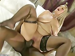 Busty British BBW MILF Dani Amour Fucks Omar\'s Huge Black Cock