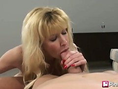 This big breasted MILF was just waiting for some ravishing hard cock to penetrate deep up in her tight little pussy. Tara loves the cock so much she wants some hot cock juice to shower her whole body. Suck that cock SLUT!!