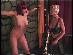 Extreme punishment for the hot horny slave girl
